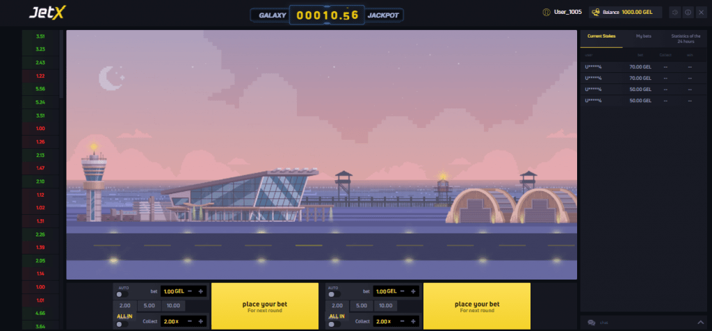 JetX 2021 By SmartSoft Gaming