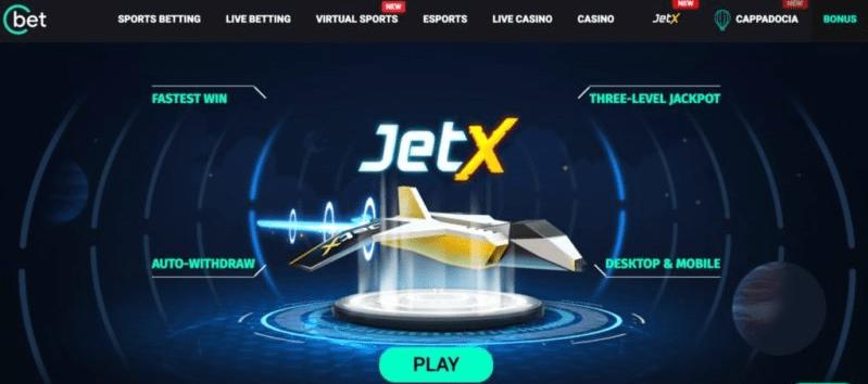 JetX 2021 JetX By SmartSoft Gaming at Cbet