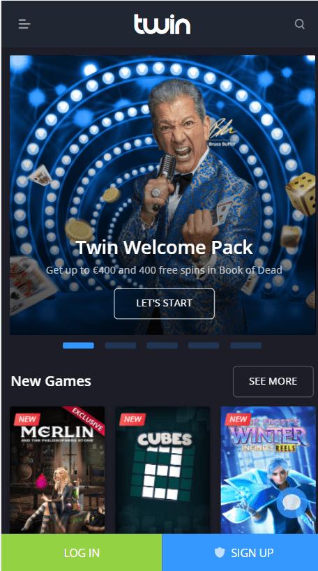 Twin Casino Mobile