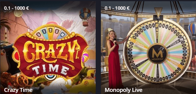 Twin Casino live games