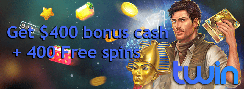 Twin Casino welcome offer