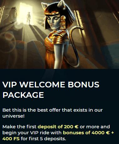 Vesper Casino VIP Program