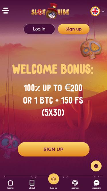 SlotVibe Casino mobile