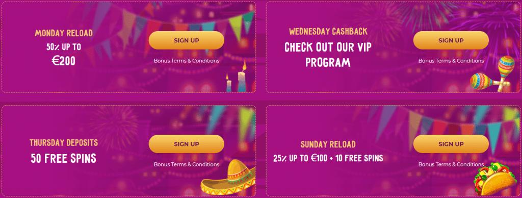 SlotVibe Casino promotions